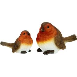 I.GE.A. Dekofigur, Polyresin-Vögel (2er Set)