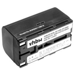 vhbw Li-Ion Akku 4400mAh (7.4V) passend für Messgerät Multimeter Topcon FC-100, FC-120, FC-200, FC-2000, FC-2200, FC-2500, GMS-2, GPT-700, GPT-7000