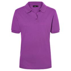 Poloshirt Classic | James & Nicholson lila XL