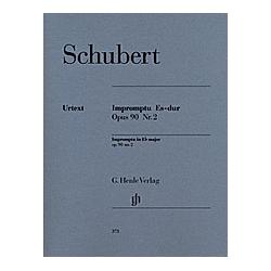 Impromptu Es-Dur op.90 2 D 899  Klavier. Franz - Impromptu Es-dur op. 90 Nr. 2 D 899 Schubert  - Buch