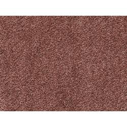 Teppichboden SUPERIOR 1064, Vorwerk, rechteckig, Höhe 11 mm, Soft-Glanz-Saxony, 500 cm Breite rot