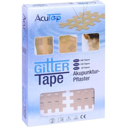 GITTER Tape AcuTop 3x4 cm 120 St