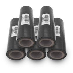 ARLI Klebeband Isolierband Isoband schwarz 10 m Klebeband Elektro Isolier Klebe Band für Handwerker Elektriker Auto KFZ (50-St)