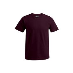 Promodoro T-Shirt 3er Pack Premium T-Shirt Rundhals in Übergröße rot
