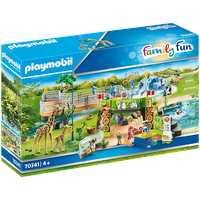 Playmobil Family Fun Mein großer Erlebnis-Zoo 70341