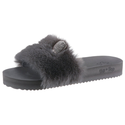 Flip Flop POOL FUR*MOUSE METALLIC Pantolette mit Metallic-Öhrchen 36