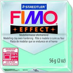 Modelliermasse Fimo effect Kunststoff 56g mint Normalblock