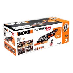 Worx Akku-Schlagbohrschrauber WORX WX527.9 Akku Handkreissäge Worxsaw 20V Solo-