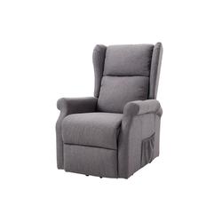 HOMCOM TV-Sessel Fernsehsessel mit Aufstehhilfe grau