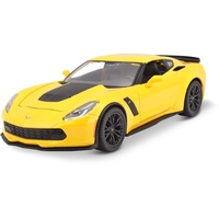 MAISTO 31133 - Corvette Z06 2015 gelb 1:24