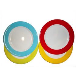 Gimex Geschirr-Set Rainbow blue 12 teilig