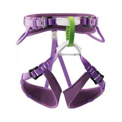 Petzl Kinderklettergurt Macchu, violett Gurtart - Kindergurt, Gurtgewicht - 301 - 400 g, Gurtgröße - Einheitsgröße, Gurtfarbe - Violett,