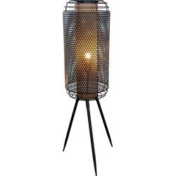 Nino Leuchten Stehlampe Denton, moderne Stehleuchte, inkl. wechselbarem LED-Leuchtmittel, Höhe 111 cm, Ø 30 cm