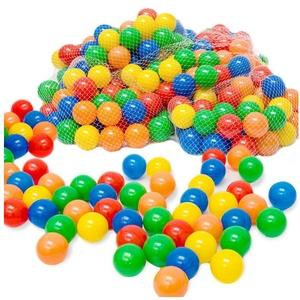 LittleTom Bällebad-Bälle 50 - 10.000 Stück Bällebad Bälle Bällebadbälle, Bunte Farben Neuware Ball Ø 5,5 cm