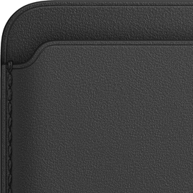 Apple Leder Wallet MagSafe - Black