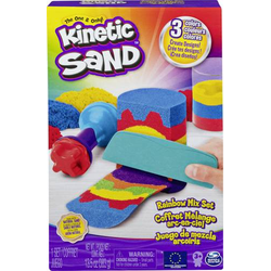Kinetic Sand Regenbogen Mix Set mit 383g Kinetic Sand