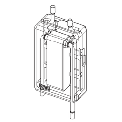 Daikin | Solaris Plattenwärmetauscher | RPWT1 | 6 kW