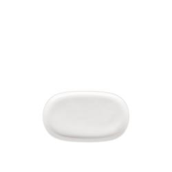 Rosenthal Tablett Jade Weiß Milch-/Zucker-Tablett, Porzellan, (1-tlg)