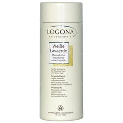 Logona Weiße Lavaerde Pulver Kopfhautpflege 150g