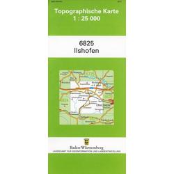 Ilshofen 1 : 25 000
