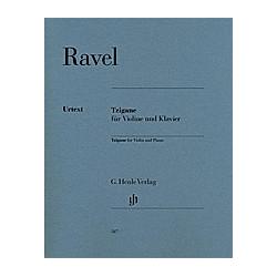 Tzigane für Violine und Klavier. Maurice - Tzigane für Violine und Klavier Ravel  - Buch