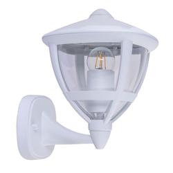 etc-shop LED Außen-Stehlampe, LED Außen Wand Strahler Steh Leuchte Sockel Stand Lampe Garten Strahler Terrassen ALU Beleuchtung