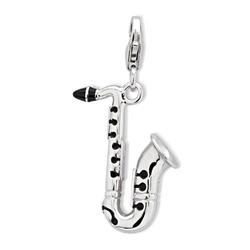 925 Silber Saxophon Charm zum Sammeln