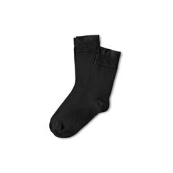 2 Paar Socken mit Zierbündchen
