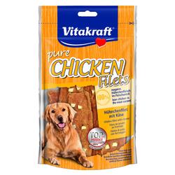 (2,49 EUR/100g) Vitakraft Chicken Hühnchenfilet mit Käse 80 g