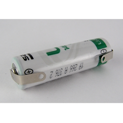 Saft LS 14500 AA 3,6V Lithium Batterie mit U-Lötanschluss