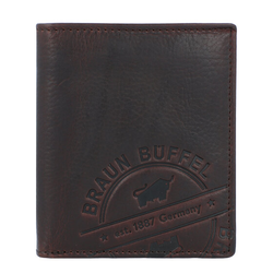 Braun Büffel Parma LP Geldbörse Leder 9 cm braun