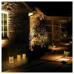TYCOLIT LED Gartenleuchte LED Gartenleuchte Kann Solar Gartenleuchten Hängen Weiß