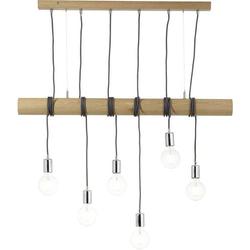 Brilliant Frihet 93745/45 Pendelleuchte LED E27 75W Holz (hell)