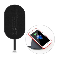 Baseus Baseus Microfaser Qi Wireless Charger Ladegerät Receiver Qi Empfänger iPhone Stecker für iPhone 5 5S SE,iPhone 6 6S PLUS, iPhone 7 / 7 PLUS Wireless Charger