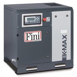 FINI Schraubenkompressor Direktgekuppelt K-MAX 5,5-10 (IE3), 5,5 KW, Liefermenge 705 L/min.. Schalldruckpegel 62 dB(A)