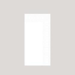 Duni Serviette, weiß, 40x40 cm, 2-lagig, 1/8 Falz 4x300 Servietten