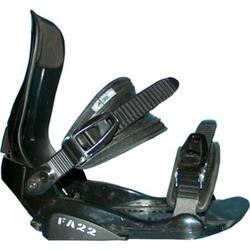 Snowboard Bindung Factory FA 22 black