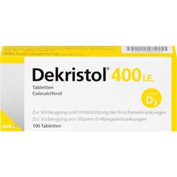 DEKRISTOL 400 I.E. Tabletten 100 St.