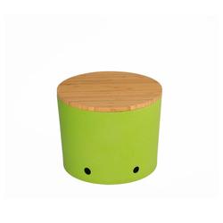 Magu Vorratsdose Knoblauchtopf grün