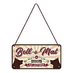 """Blechschild """"Bell-o-Mat"""""""