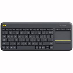 Wireless Touch Keyboard K400 Plus Black (Spanish)