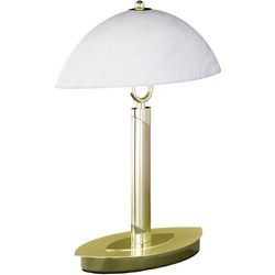 WOFI Newton 8112.02.32.0010 Tischlampe LED E14 40W Messing (matt)