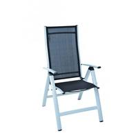 MERXX Carrara 70 x 60 x 108 cm schwarz klappbar