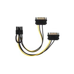 adaptare adaptare 35109 Grafikkarten-Stromkabel 2-mal SATA- Computer-Kabel