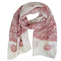 Guru-Shop Modetuch Dünnes Baba Tuch, Benares Lunghi - weiß