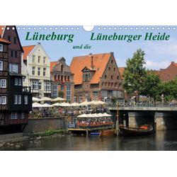 Lüneburg und die Lüneburger Heide (Wandkalender 2021 DIN A4 quer)