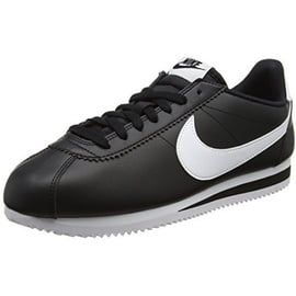 Nike Wmns Classic Cortez Leather black-white, 42.5