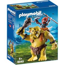 Playmobil® Spielfigur PLAYMOBIL® 9343 Riesentroll mit Zwergenrucksack
