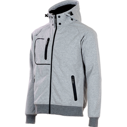 Softshelljacke Tech grau