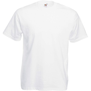 Fruit of the Loom T-Shirt S-XXXL in verschiedenen Farben M,Weiß